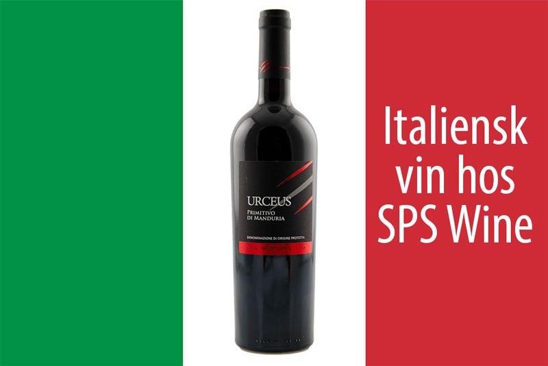 Italiensk rødvin og hvidvin