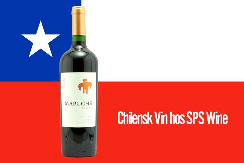 Chilensk vin hos SPS Wine