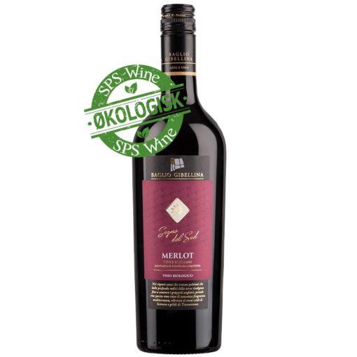 Baglio Gibellina Merlot Økologisk Italiensk rødvin