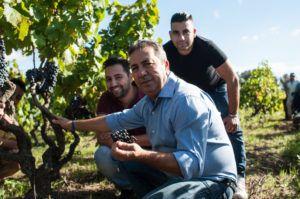 Paolo Leo familie økologisk vin druer vinmarker