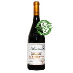 Paolo Leo Passitivo Organico Primitivo Puglia Mini Amarone økologisk rødvin øko