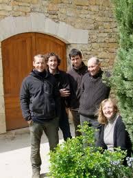 Chateau Les Crosille Vinmagerne familien far kone og sønBernard og Cécile Croisille Germain Nicolas Simon økologisk