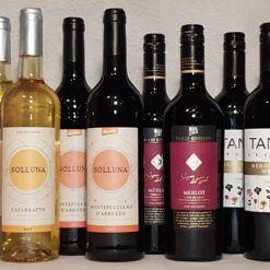 Den Sicilienske smagekasse 499 sps wine Rødvin hvidvin italien italiensk vin.