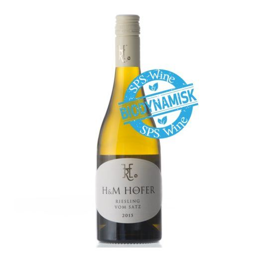Hofer Riesling Vom satz Lieblich Biodynamisk SPS Wine Hvidvin øko bio