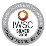 IWSC sølvmedalje 2018 OriGinCph – Aronia Dry