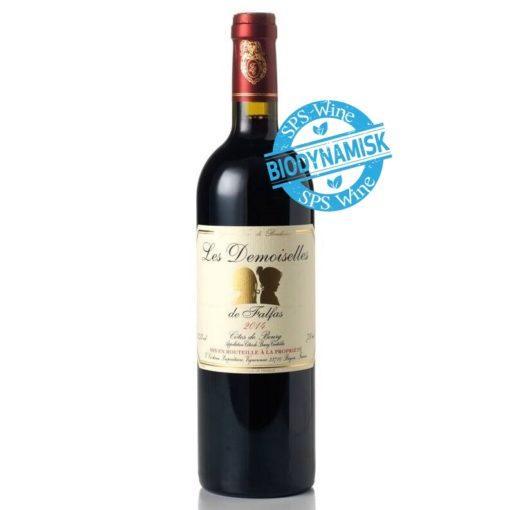 Chateau Falfas Demoiselles sps wine fransk rødvin biodynamisk frankrig bordeaux