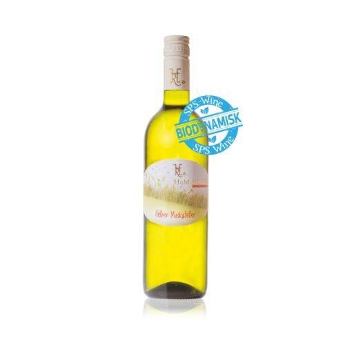 H_u_M Hofer Gelber Muskateller sps wine hvidvin biodynamisk