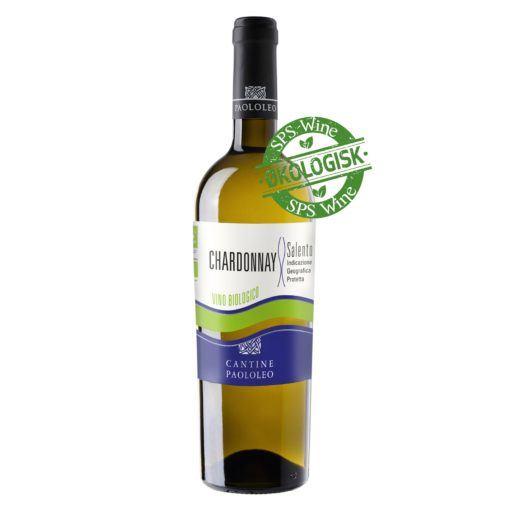 Paolo Leo Chardonnay Salento sps wine hvidvin økologisk øko