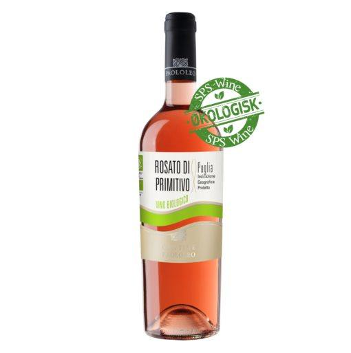 paolo leo rosato primitivo sps wine økologisk øko rosé