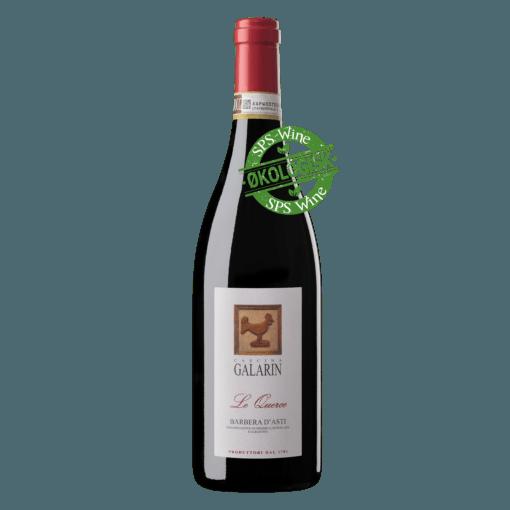 Galarin Barbera D´asti Le Querce Økologisk Piemonte italien rødvin