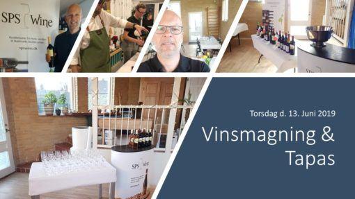 Vinsmagning & Tapas Sps wine. Økologiske og biodynamiske vine.
