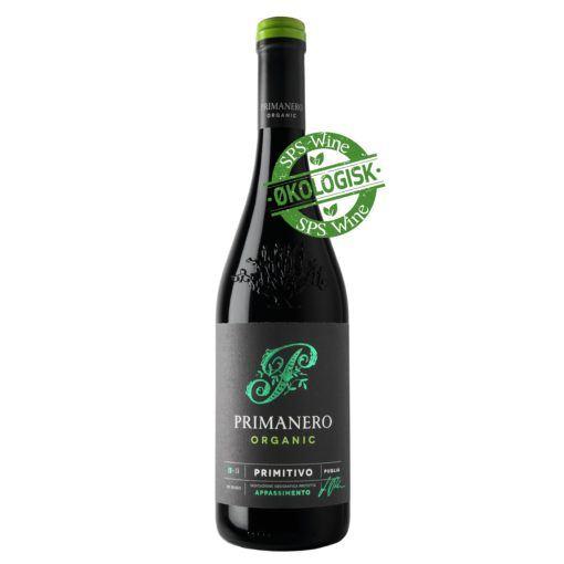 Paolo leo Primanero sps wine økologisk øko eco amarone zinfandel rødvin italien puglia