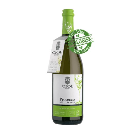 Giol Prosecco Økologisk, Veneto Italien - Uden Sulfitter sps wine