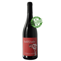 Domaine Soleyrade, Økologisk rødvin, Rhone Frankrig